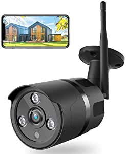 caméra wifi Netvue Caméra de Surveillance wifi Extérieure 1080P