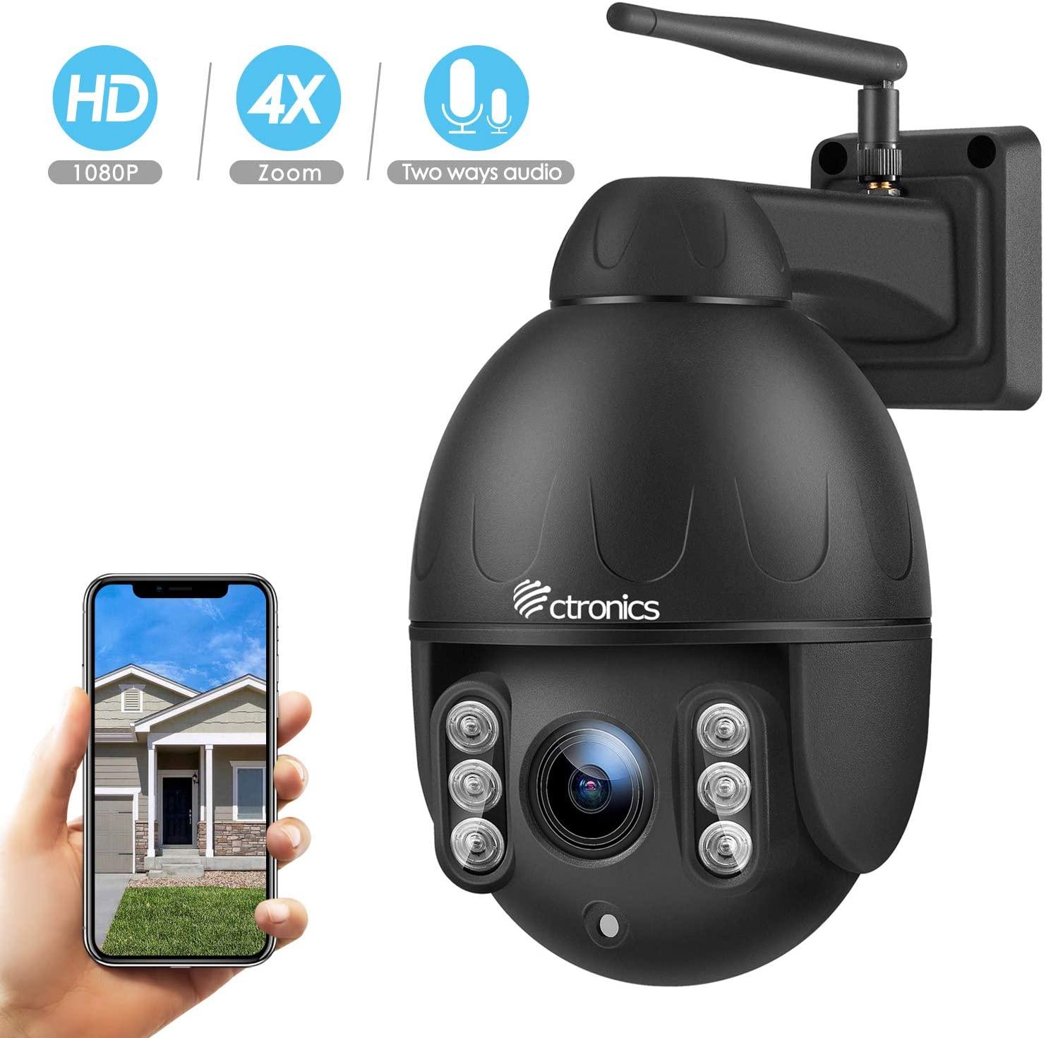 caméra wifi PTZ Dome